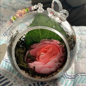 The Glass Orchard cute round decorative bloom